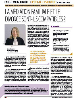 Article médiation familiale